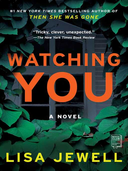 cover of watching you by lisa jewell