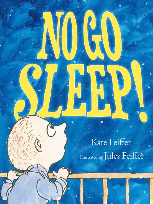Title details for No Go Sleep! by Kate Feiffer - Wait list