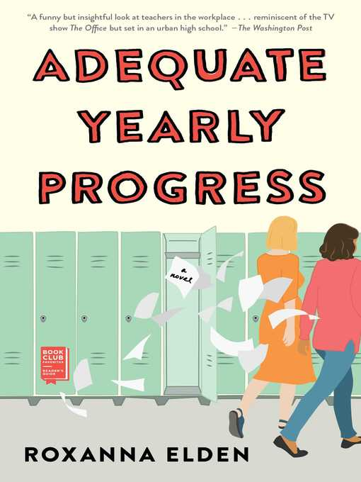 Title details for Adequate Yearly Progress by Roxanna Elden - Available