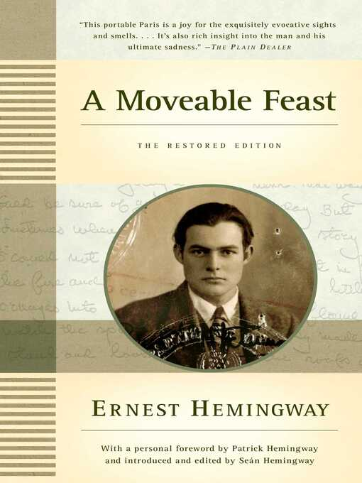 Title details for A Moveable Feast by Ernest Hemingway - Available