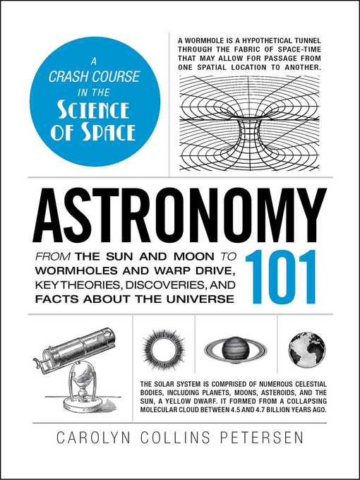 Le Details For Astronomy 101 By Carolyn Collins Petersen Wait List