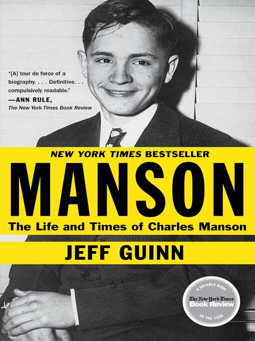 Title details for Manson by Jeff Guinn - Available