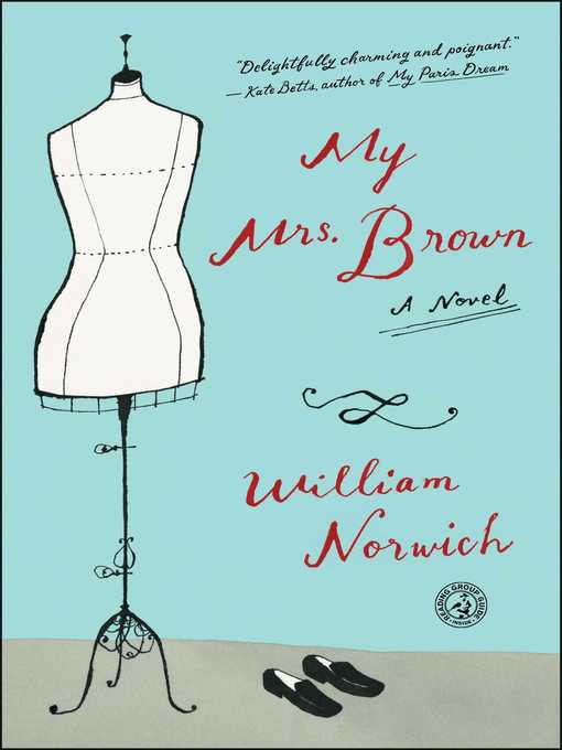 Title details for My Mrs. Brown by William Norwich - Wait list