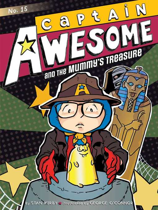 Cover of Captain Awesome and the Mummy's Treasure