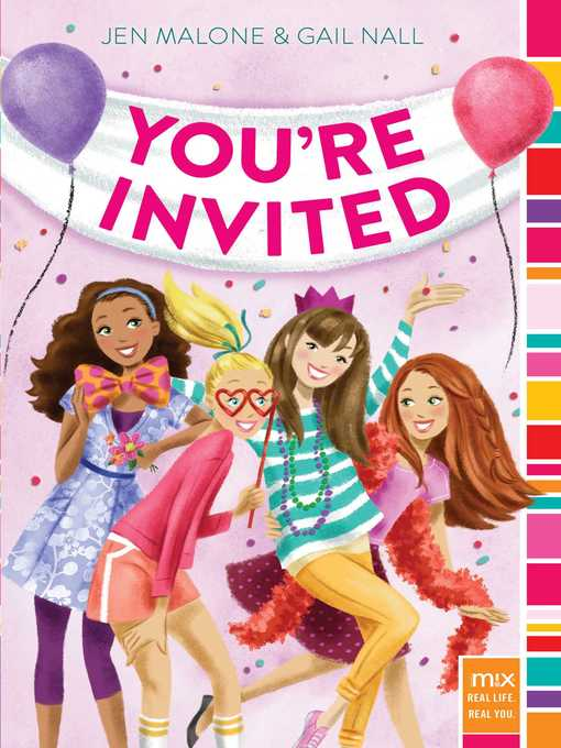 You're Invited RSVP Series, Book 1