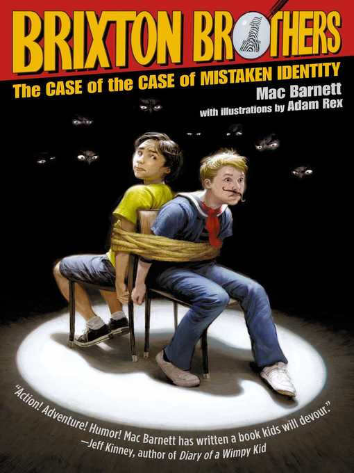 Title details for The Case of the Case of Mistaken Identity by Mac Barnett - Wait list