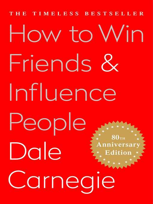 Title details for How to Win Friends and Influence People by Dale Carnegie - Wait list