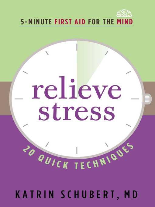 Title details for Relieve Stress by Katrin Schubert - Wait list