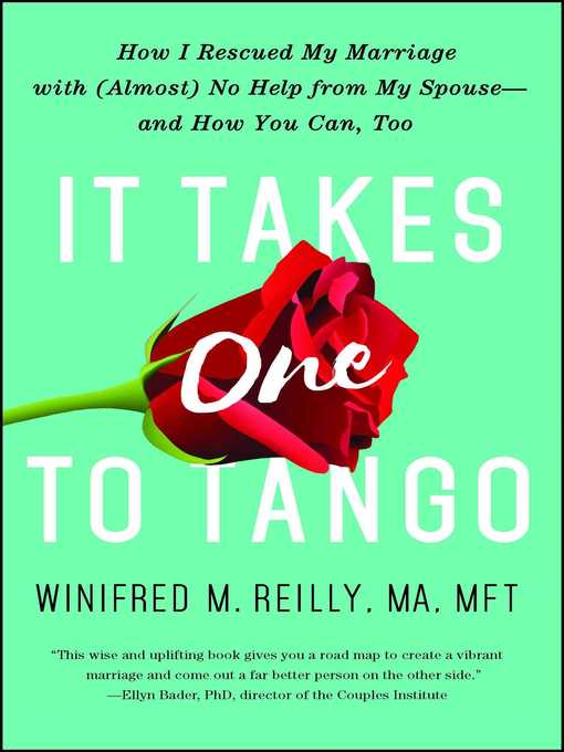 Title details for It Takes One to Tango by Winifred M. Reilly - Wait list