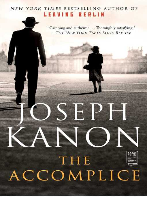 Title details for The Accomplice by Joseph Kanon - Available