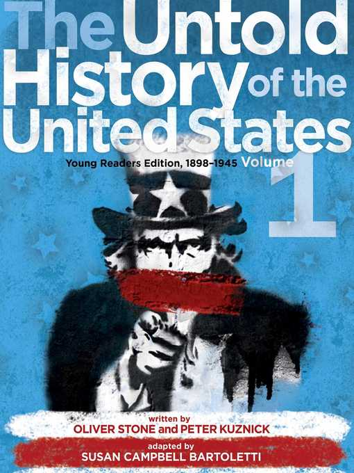 Cover of The Untold History of the United States, Volume 1