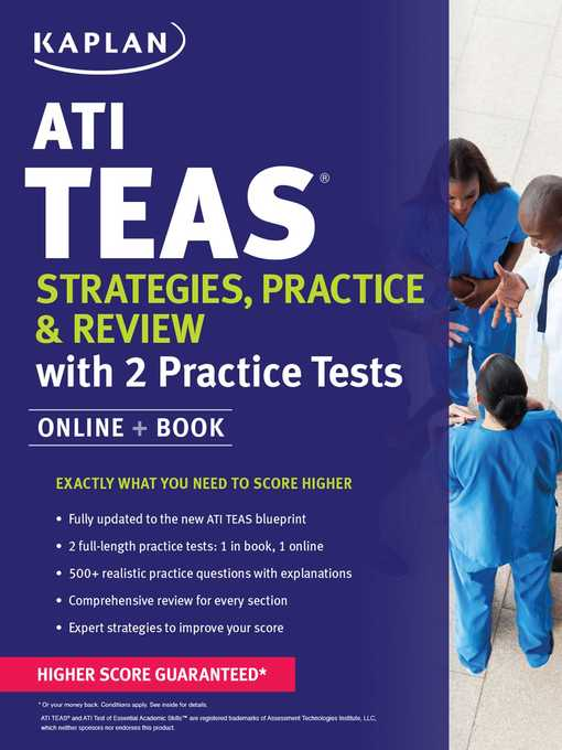Title details for ATI TEAS Strategies, Practice & Review with 2 Practice Tests by Kaplan Nursing - Wait list