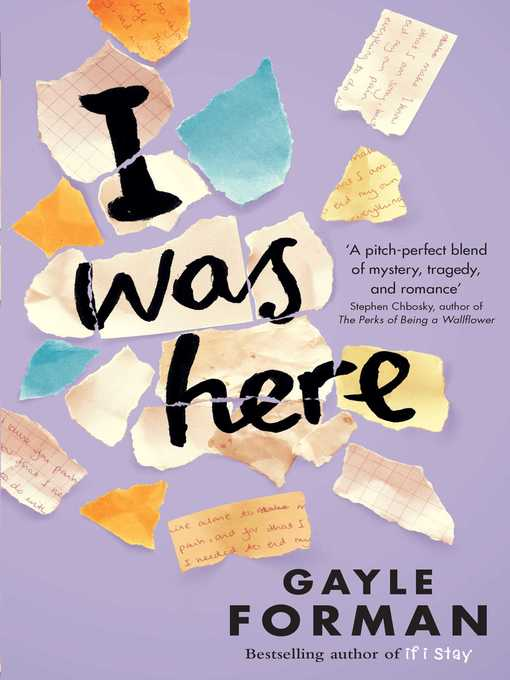 a review of the tragic mystery of suicide an article by gayle forman I was here is a pitch-perfect blend of mystery, tragedy, and romance gayle forman has given us an unflinchingly honest portrait of the bravery it takes to live after devastating loss stephen chbosky, author of the #1 new york times bestselling the perks of being a wallflower.