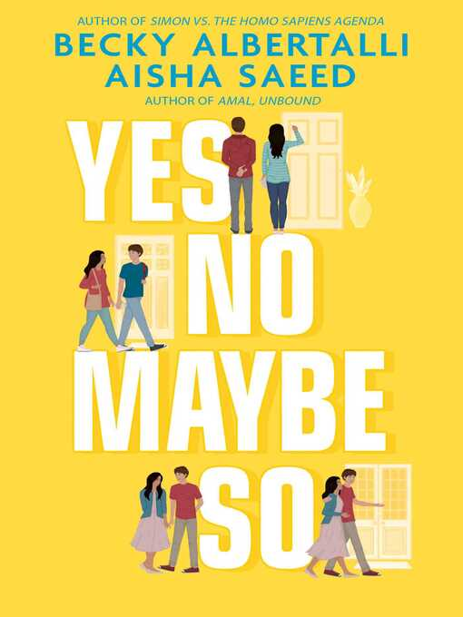 Title details for Yes No Maybe So by Becky Albertalli - Available