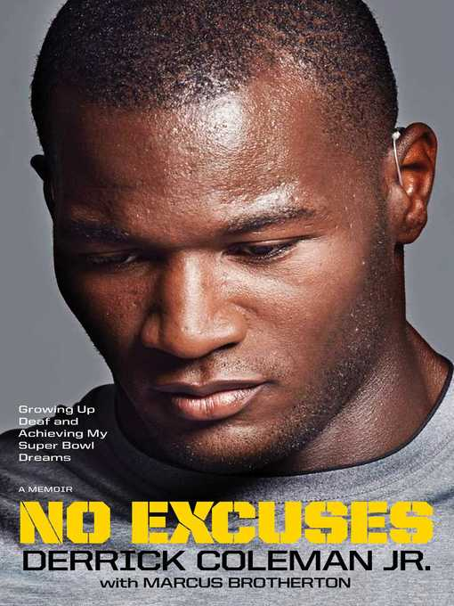 Title details for No Excuses by Derrick Coleman - Available