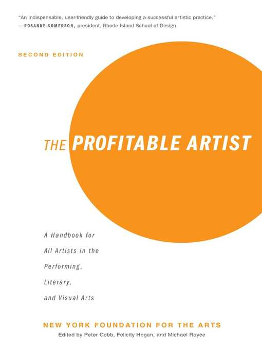 Title details for The Profitable Artist by New York Foundation for the Arts - Available
