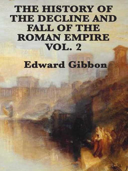 Cover of History of the Decline and Fall of the Roman Empire Vol 2