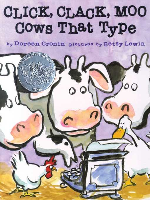 Title details for Click, Clack, Moo by Doreen Cronin - Wait list