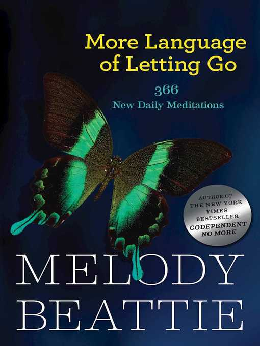 Title details for More Language of Letting Go by Melody Beattie - Available