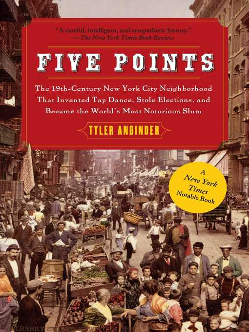 Title details for Five Points by Tyler Anbinder - Available