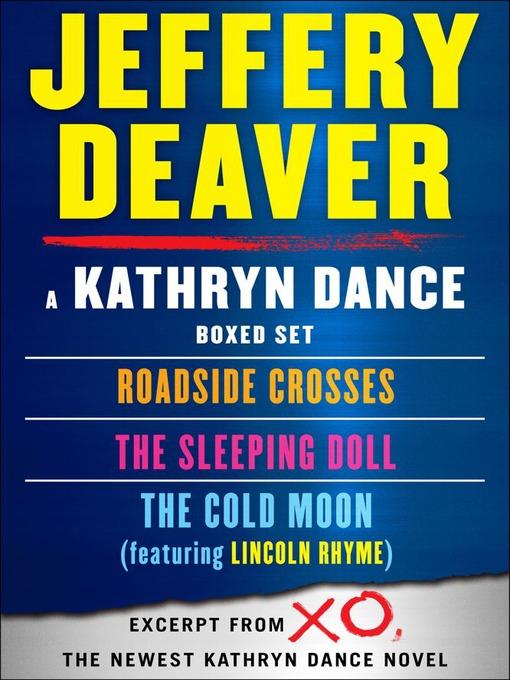 Title details for Kathryn Dance eBook Boxed Set by Jeffery Deaver - Wait list