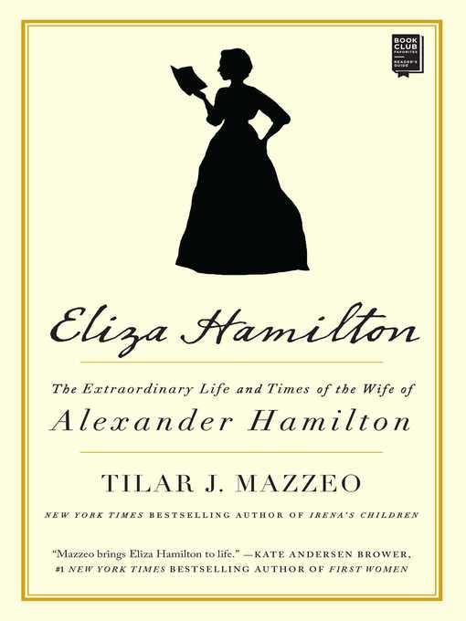 Title details for Eliza Hamilton by Tilar J. Mazzeo - Wait list
