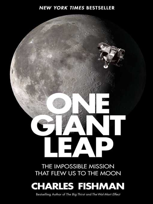 Title details for One Giant Leap by Charles Fishman - Wait list