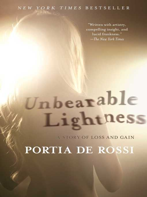 Cover image for Unbearable Lightness