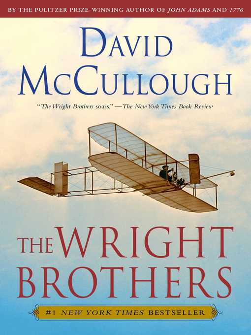 Title details for The Wright Brothers by David McCullough - Wait list