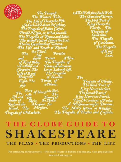 Title details for The Globe Guide to Shakespeare by Andrew Dickson - Wait list