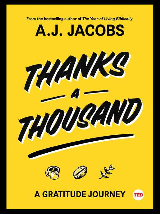 Title details for Thanks a Thousand by A. J.  Jacobs - Wait list