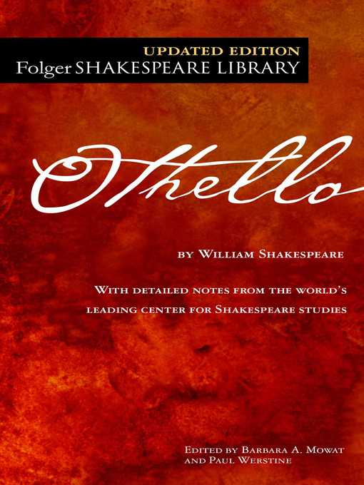 Title details for Othello by William Shakespeare - Wait list
