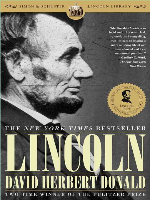 Title details for Lincoln by David Herbert Donald - Wait list