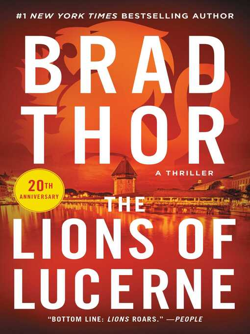 Title details for The Lions of Lucerne by Brad Thor - Wait list
