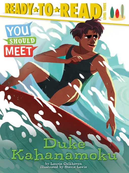 Title details for Duke Kahanamoku by Laurie Calkhoven - Wait list
