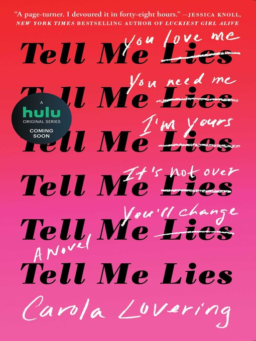 Title details for Tell Me Lies by Carola Lovering - Wait list