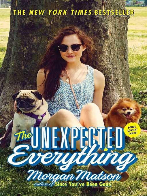 Title details for The Unexpected Everything by Morgan Matson - Wait list