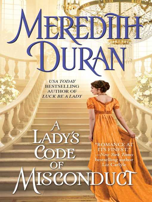 Title details for A Lady's Code of Misconduct by Meredith Duran - Wait list