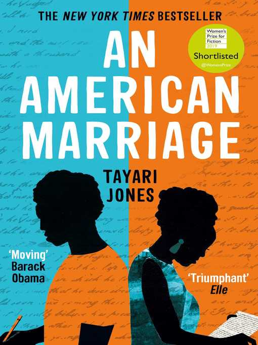 Title details for An American Marriage by Tayari Jones - Wait list