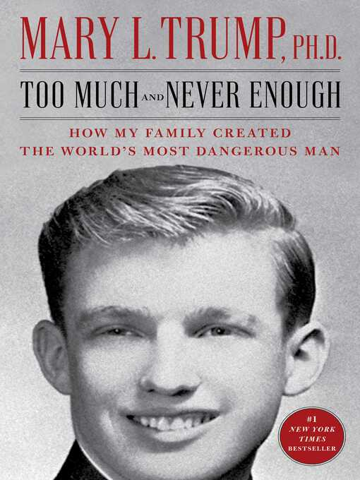 Title details for Too Much and Never Enough by Mary L. Trump - Available