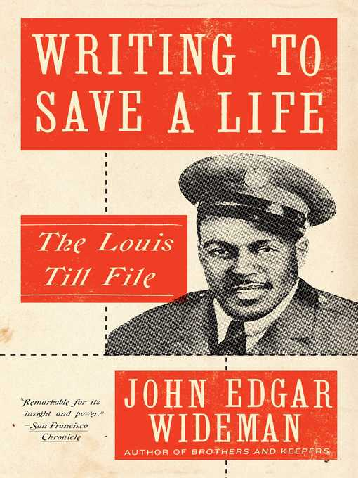 Title details for Writing to Save a Life by John Edgar Wideman - Available