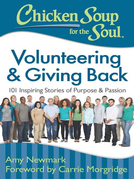 Title details for Volunteering & Giving Back by Amy Newmark - Available