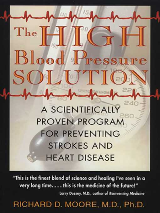 Title details for The High Blood Pressure Solution by Richard D. Moore - Wait list