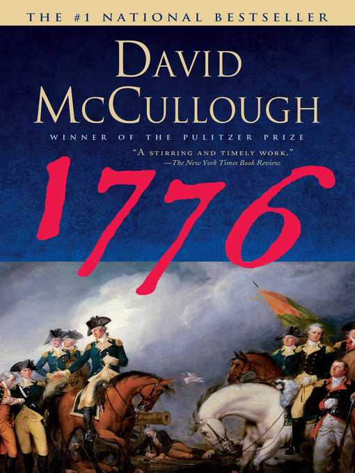 Title details for 1776 by David McCullough - Wait list