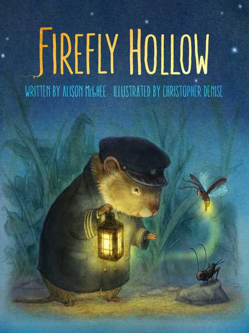 Title details for Firefly Hollow by Alison McGhee - Wait list