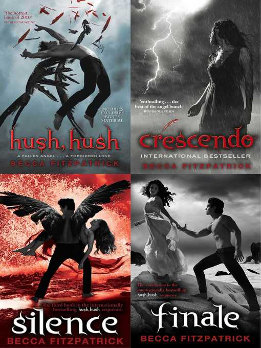 a review of hush hush a fantasy novel by becca fitzpatrick The book addict reviews: hush hush by becca fitzpatrick genre: young adult, fantasy i learned that this book was becca fitzpatrick's debut novel.