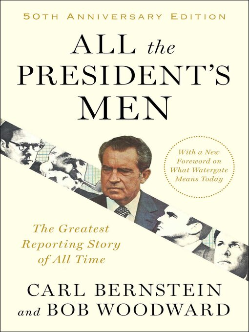 all the presidents men the watergate scandal Reporters woodward and bernstein uncover the details of the watergate scandal that leads to president nixon's resignation director: alan j pakula writers: carl bernstein (book), bob woodward (book), stars: dustin hoffman, robert redford, jack warden.
