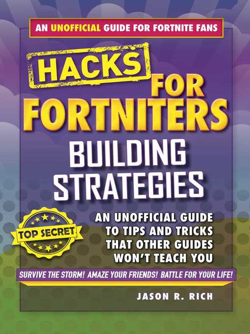 Title details for Building Strategies: An Unofficial Guide to Tips and Tricks That Other Guides Won't Teach You by Jason R. Rich - Available