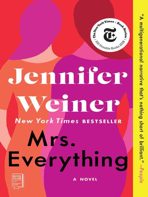 Title details for Mrs. Everything by Jennifer Weiner - Wait list