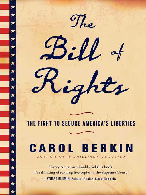 Title details for The Bill of Rights by Carol Berkin - Wait list